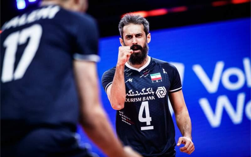 بازگشت والیبال ایران به رده هشتم جهان