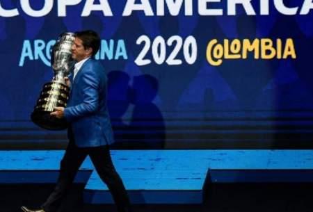 میزبانی کوپا آمریکا از آرژانتین گرفته شد