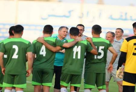 بازیکنان تیم ملی فوتبال ایران تست کرونا میدهند