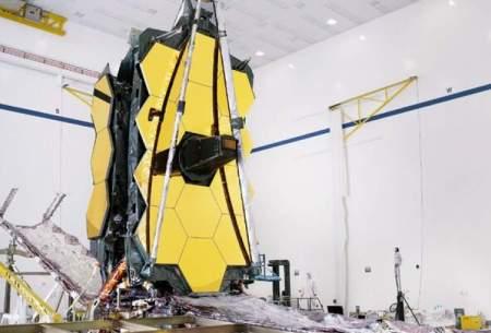 تعویق مجدد پرتاب تلسکوپ فضایی جیمز وب