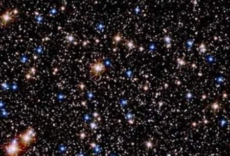 نمایش خیرهکننده یک خوشه ستارهای!