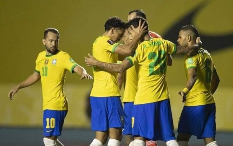 مقدماتی جام جهانی؛ نیمار برزیل را صدرنشین کرد