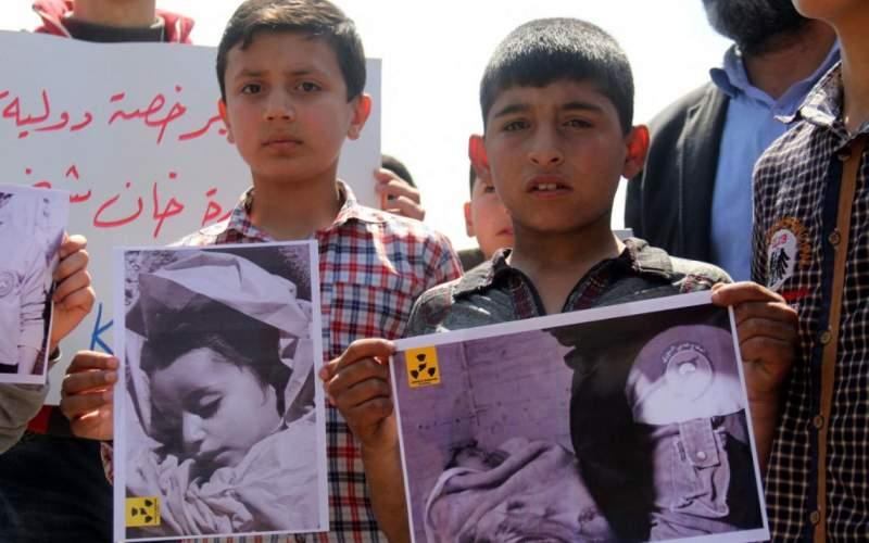 در حمله شیمیایی خانشیخون ۳۰ کودک جان باختند