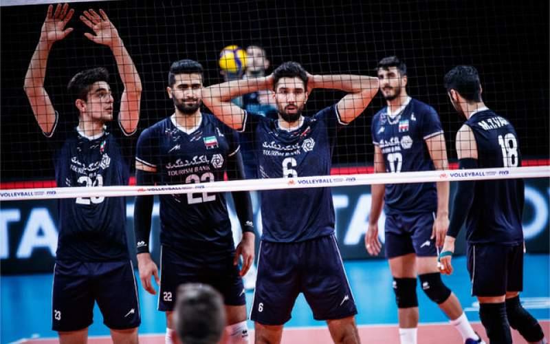 پیروزی قاطع تیم  والیبال ایران  مقابل بلغارستان