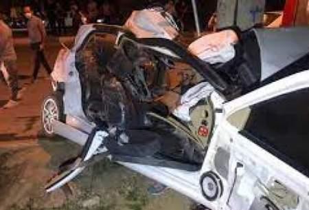 مرگ سه نوجوان ۱۵ساله در سانحه رانندگی