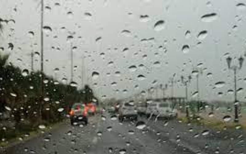 بارش پراکنده و وزش باد در برخی مناطق کشور