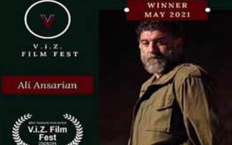 انصاریان بهترین بازیگرمرد جشنواره بلغارستان شد