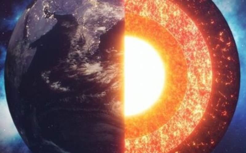 هسته درونی زمین رشدی نامتقارن دارد!