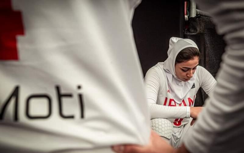زنان بسکتبال ایران رنگ برد را ندیدند