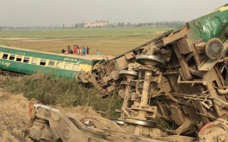 حادثه قطار در پاکستان ۳۰کشته برجای گذاشت