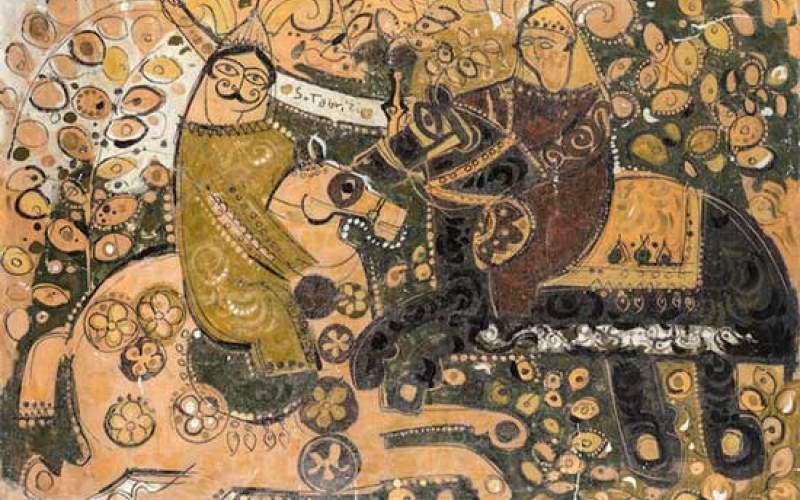 شگفتآفرینی هنرمندفقید ایرانی درحراج بونامز