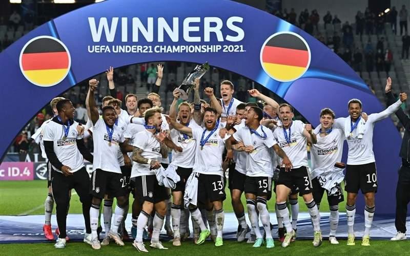 آلمان قهرمان مسابقات زیر ۲۱ سال اروپا شد