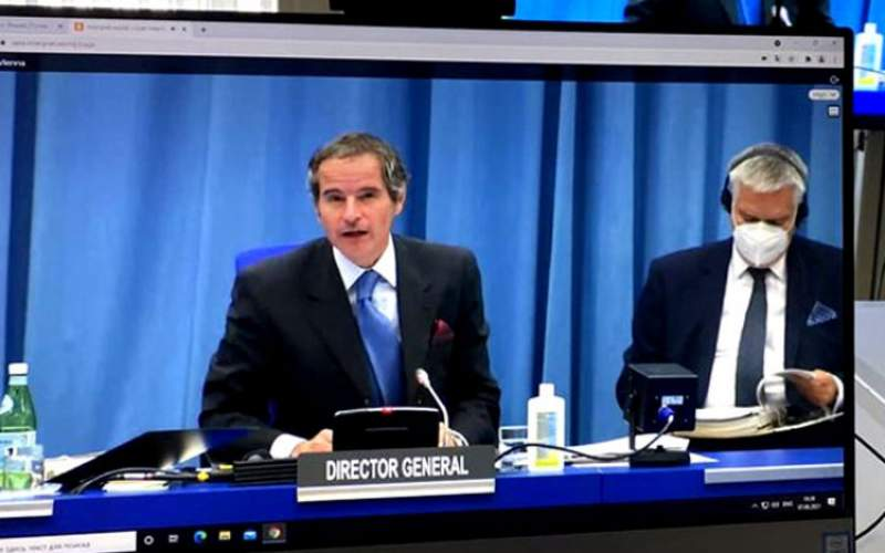 گروسی: گفتگو با ایران نتیجه مثبتی نداشت