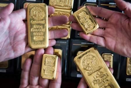 قیمتجهانی طلا با افتدلار به ۱۹۰۰دلار بازگشت