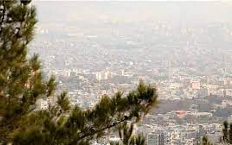 افزایش نسبی دما و غلظت آلاینده ازن در تهران