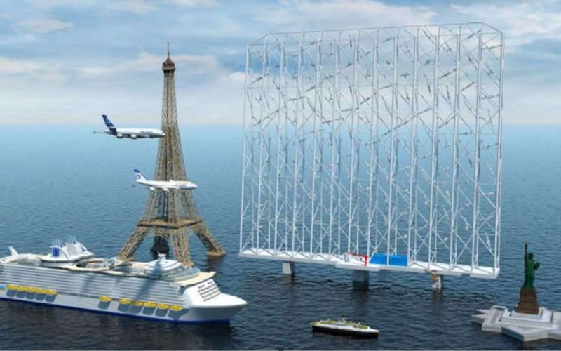رونمایی از بادگیر دریایی ۳۰۰ متری!
