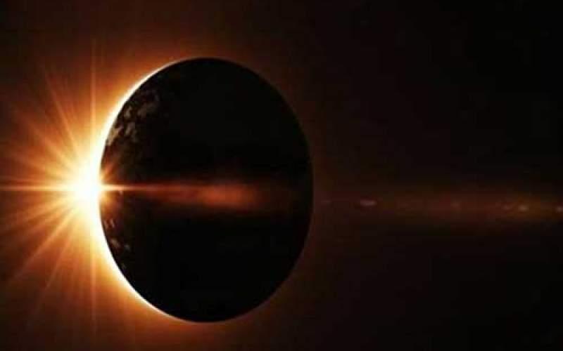 امروز؛ وقوع نخستین خورشید گرفتگی سال
