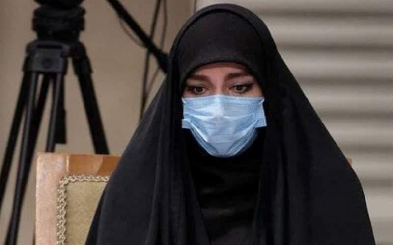 حضور دختر سردار سلیمانی در انتخابات شورا