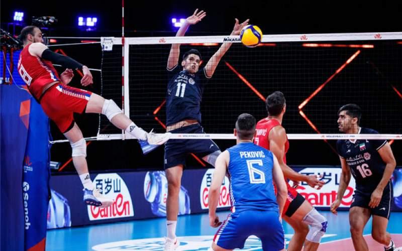 ترکیب تیم ملی والیبال ایران برابر آلمان