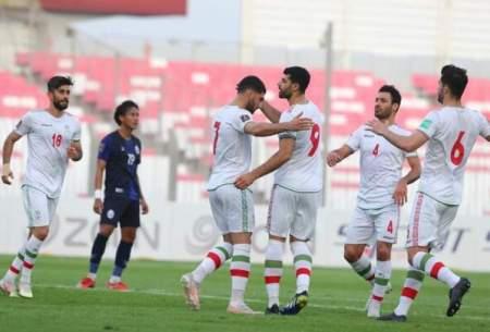 ایران با توپ پر به استقبال بازی با عراق میرود