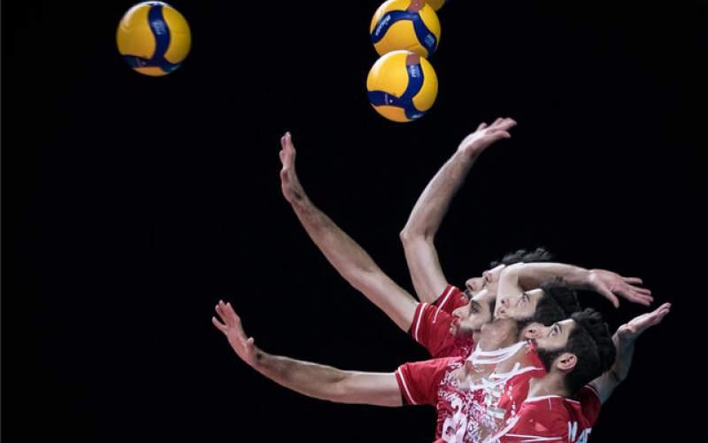 سقوط یک پله ای والیبال ایران در رده بندی جهانی