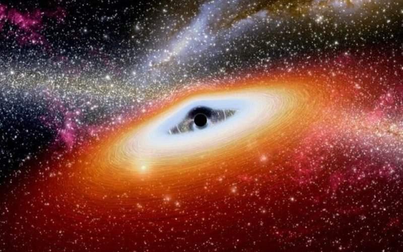 یک سیاه چاله کلان جرم در حال مرگ کشف شد