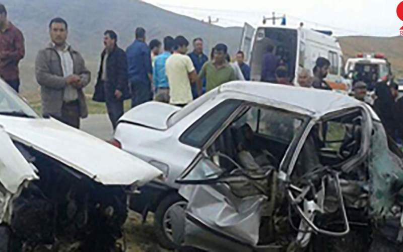 مرگ 5 عضو خانواده در تصادف  رانندگی