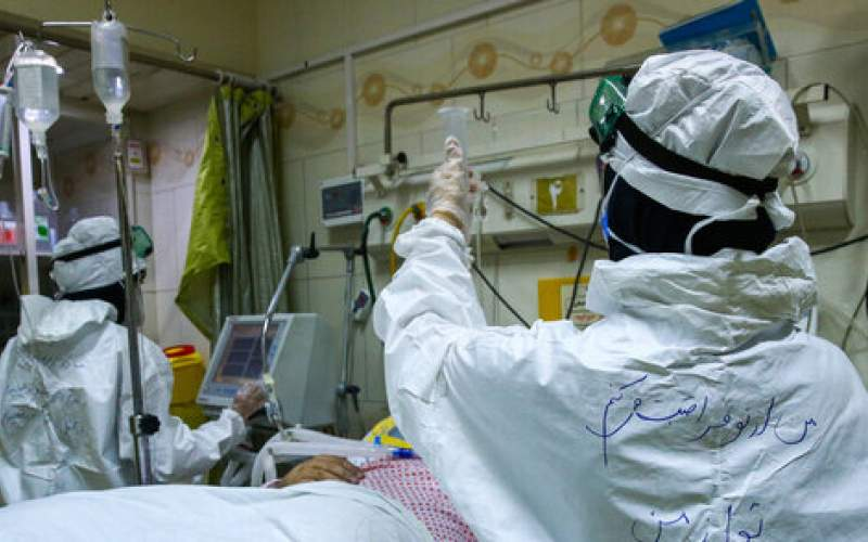 ۳۴۸۳ بیمار در وضعیت شدید بیماری کرونا
