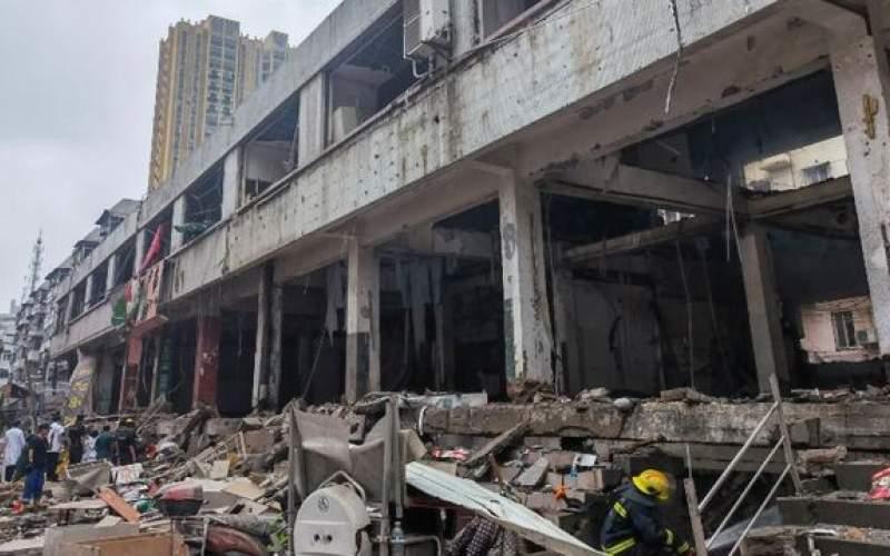 انفجار گاز در مرکز چین قربانی گرفت