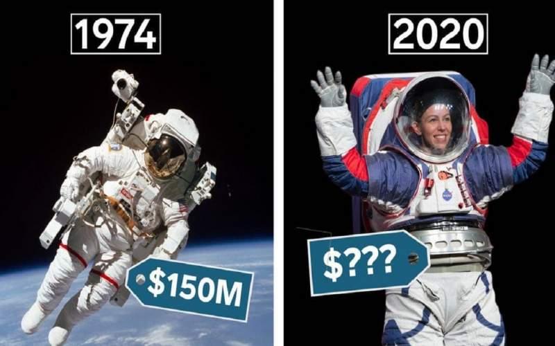 چرا لباس های فضایی ناسا بسیار گران هستند؟