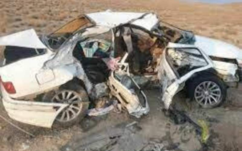 تصادف مرگبار در محور روانسر؛4 نفر جان باختند