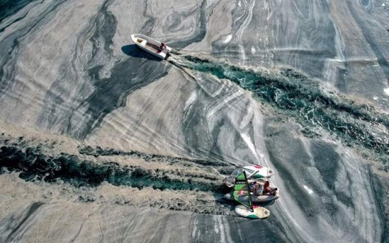 عامل آلودگی زیست محیطی در دریای مرمره