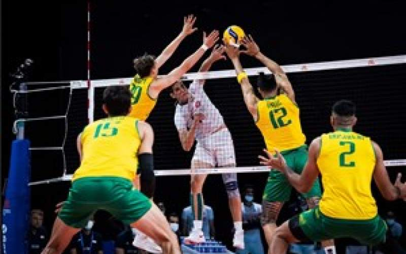 باخت عجیب تیم ملی والیبال ایران به استرالیا