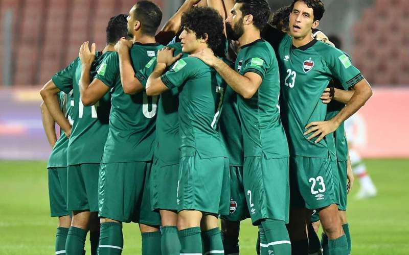 عراق به رکورد ۲۰ بازی بدون شکست نرسید