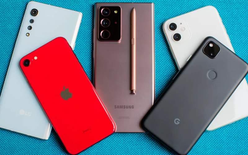 قیمت انواع گوشی موبایل در بازار امروز/جدول