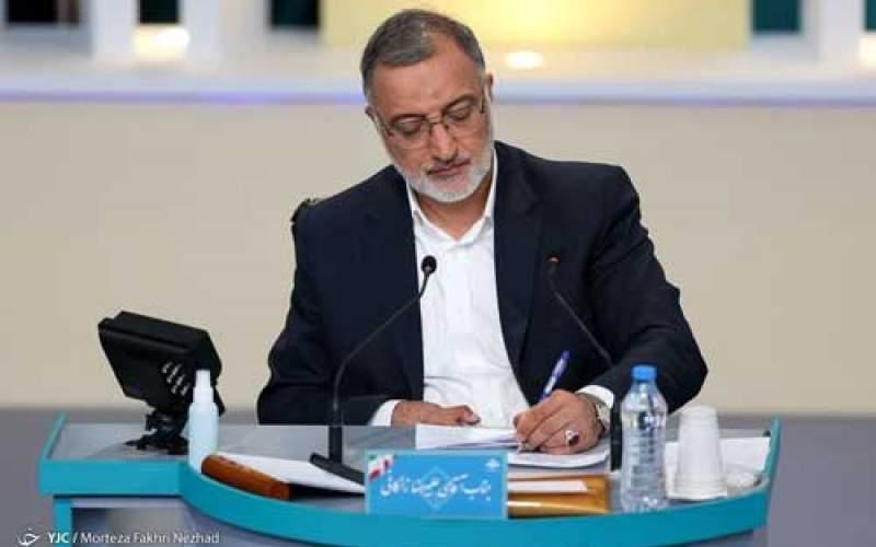 زاکانی به نفع رئیسی انصراف داد