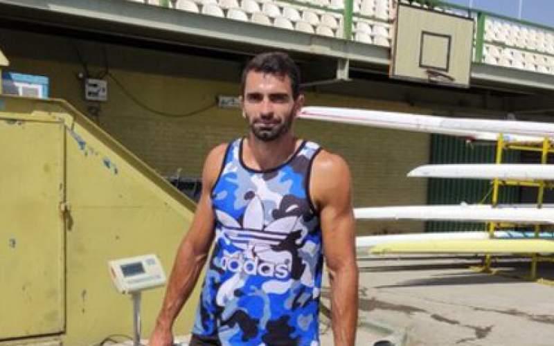 علی آقامیرزایی در قایقرانی المپیکی شد
