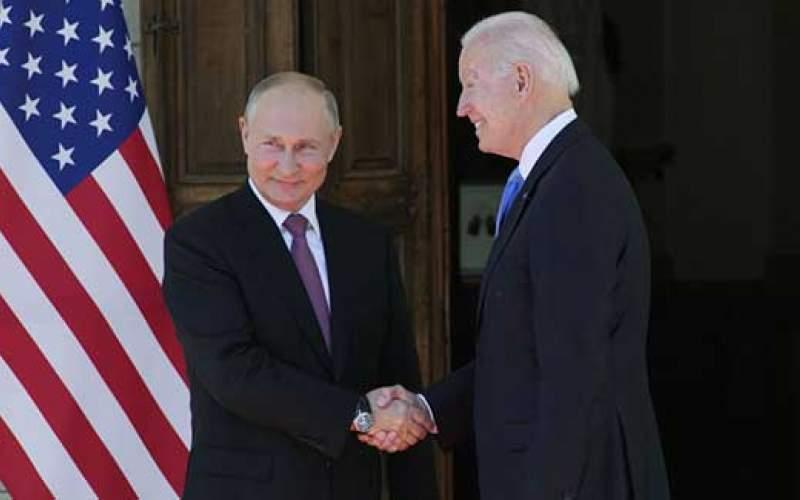 پوتین و  جو بایدن با یکدیگر دیدار کردند