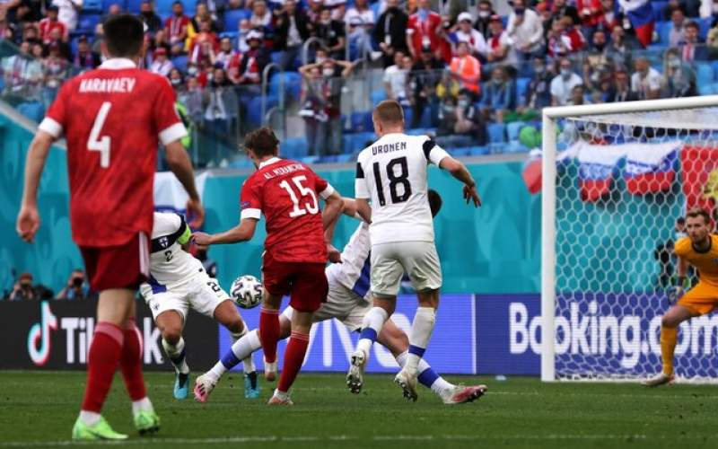 نخستین برد روسیه در یورو ۲۰۲۰