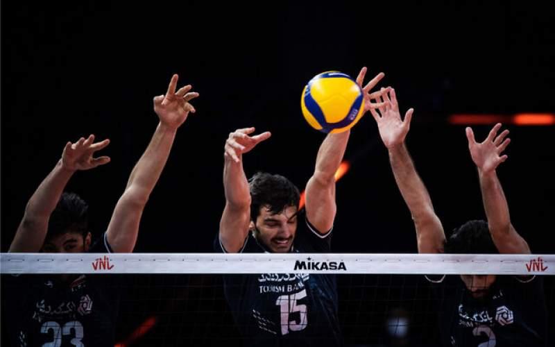 تیم ملی والیبال ایران حریف برزیل نشد