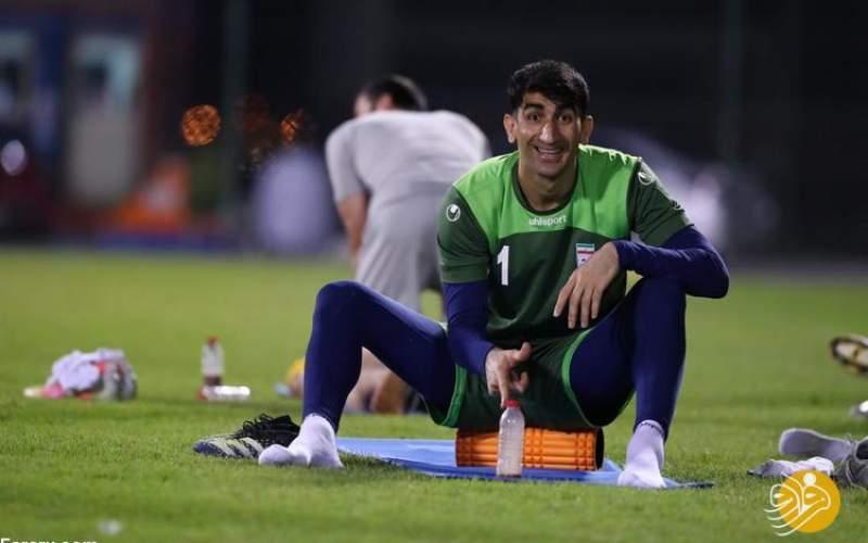 بیرانوندمیخواست بازیکن عراق را خفه کند!