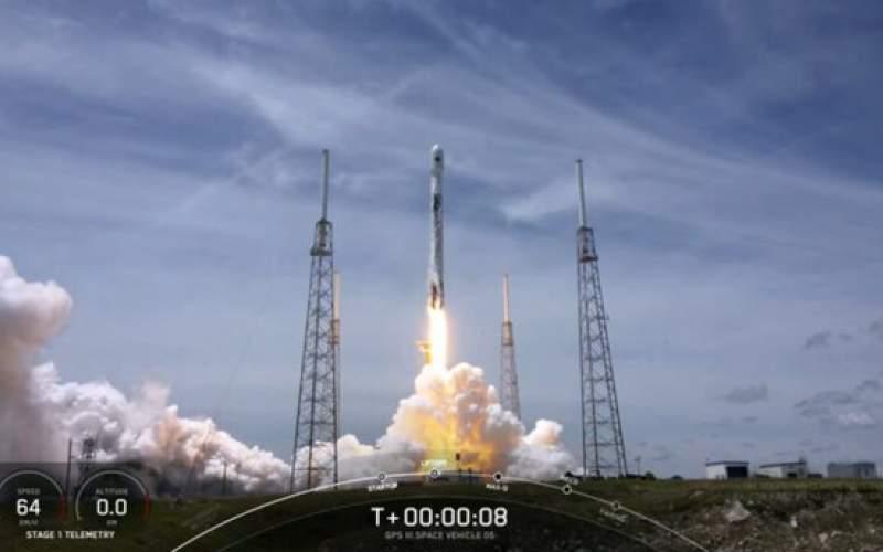 اسپیس ایکس ماهواره ارتش آمریکا را به فضا برد