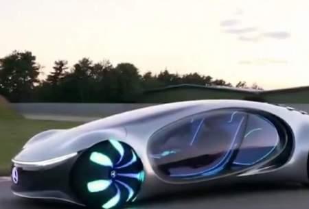 خودروی الکتریکیِ مرسدس بنز در دهه آینده
