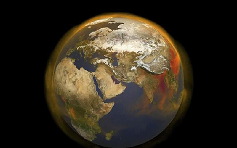 رشد بیسابقه انرژی به دام افتاده در جوّ زمین