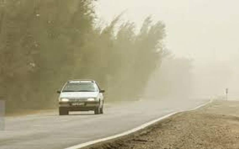 تداوم وزش باد و گردوخاک در برخی مناطق کشور