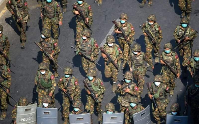 درخواست برای عدم فروش تسلیحات به میانمار