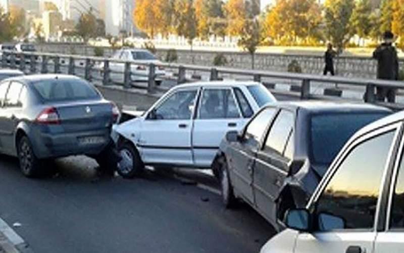 جزئیات تصادف خودرو پراید با ۷ سرنشین