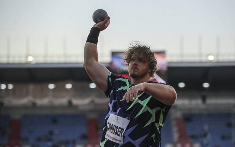 قهرمان پرتاب وزنه المپیک رکورد جهان راشکست