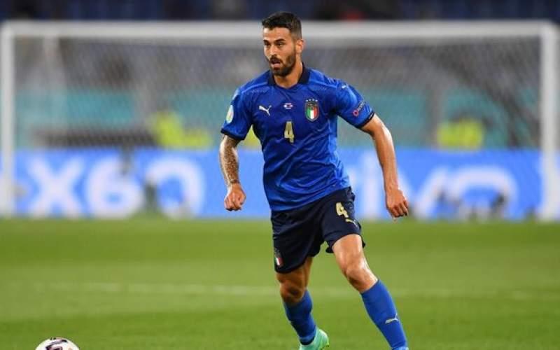 مدافع ایتالیا سریعترین بازیکن یورو ۲۰۲۰