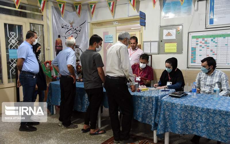 درصد مشارکت انتخابات تهران ۲۶ درصد